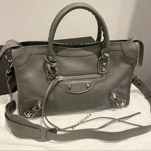Balenciaga City Metallic Edge Small Bag